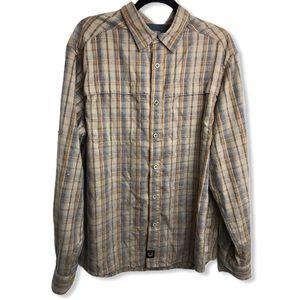 Wrangler OutdoorSeries Mesh Line YellowPlaid Shirt